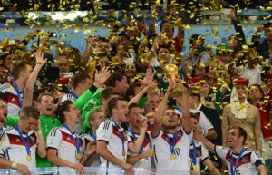 Deutschland feiert den Weltmeistertitel 2014